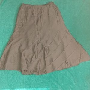 💝1/2 OFF💝 CHICO'S Crushed Linen Skirt